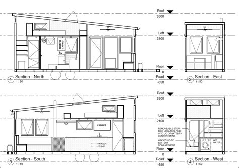 Tiny House Floor Plans With Dimensions